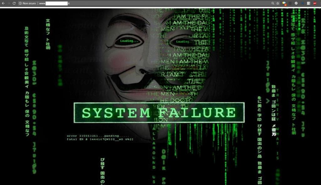 Piattaforma CMS open source non aggiornata